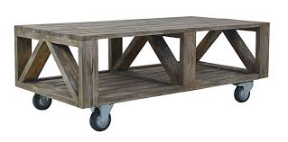 Industrial Coffee Table Cart Industrial Side Table Postino Side Table Corner Detail