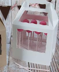 3466x3435 8 12 X 6 X 8 Brownbrown Cake Pop Box Set For Paper