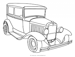 Car drawing outline at getdrawings free for personal use car