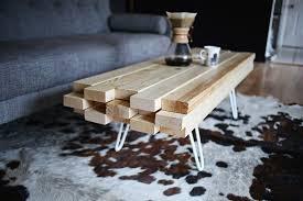 DIY Wooden Coffee Table ...