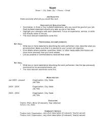 Two Types Of Resumes How To Write A Resume
