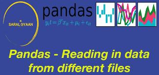 creating pandas dataframe from csv file