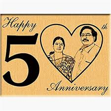 engraved 50th birthday gifts best of 50th anniversary gift engraved plaque gift my