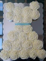 Wedding Gown Cupcake Cake Just a Sliver