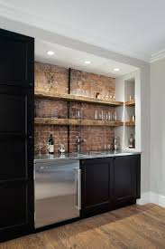 wet bar cabinet home rustic with reclaimed wood shelves sub zero floating glass for sound 8 floating bar shelves contemporary