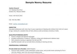 Child Care Resume Templates Free Best Of Child Care Resume Templates Free With Resume Examples For Child Care