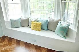 bay window seat. Unique Seat Building A Window Seat With Storage In Bay Pretty Handy  Seating Throughout