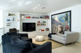 View in gallery Simple and uncomplicated design idea for a bachelor pad
