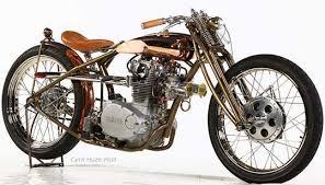 yamaha xs 650 copper beauty at cyril huze post custom motorcycle