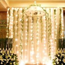 tool and twinkle lights   Hanging fabric and vines with twinkle lights ...  