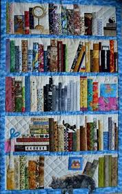 This bookshelf quilt is amazing! Loving the cat. :D - The Writer's ... & Bookshelf quilt. See More. Wonderful bookcase quilt! | Flickr - Photo  Sharing! Adamdwight.com