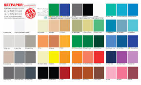 color chart setpaper color chart