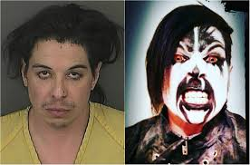 man in demonic clown makeup now accused in killing lived in dark fantasy world friends say the denver post
