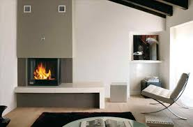 modern mod century corner brick fireplace mantels bookshelves design made of wood in rectangular shape fireplace