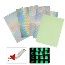 5Pcs Fishing Lure Scale Tape <b>Holographic Adhesive</b> Tackle Craft ...