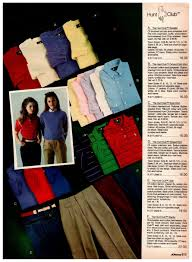 Fashionable 80s Clothes For Girls In The 1983 Jc Penney