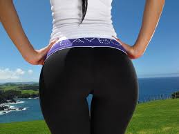 Girls ass in spandex