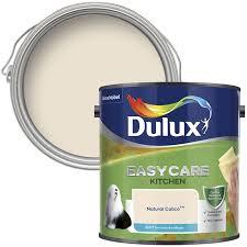 Dulux Easycare Kitchen Natural Calico Matt Emulsion Paint 2 5l