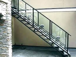 Metal handrails for stairs Railing Design Modern Staircase Railing Kits Metal Handrails For Stairs Metal Handrails For Stairs Modern Stair Railing Kits Mikejack Modern Staircase Railing Kits Home Depot Stairs Kits Exterior Stair