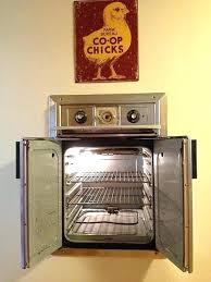 vintage wall oven we tappan for