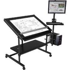 Marvelous Computer Desk W/ Drafting Table   Excellent Drafting Desk, Drafting Tables,  Adjustable Desktop