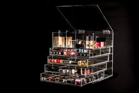 uk clear drawer cosmetic acrylic makeup organizer interior