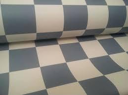 premium black and white checd linoleum flooring