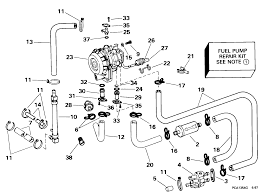Manual engines fuel injection fuel pump conversion kit 90 115 models fuel systems 1998