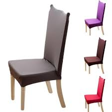 solid color chair covers spandex covers for kitchen chairs modern armchair seat covers for dining room