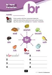 Check out our different sets of worksheets that help kids practice and learn phonics skills like beginning sounds, rhyming and more. Free Blends Worksheets Consonant Cluster Br Consonant Blends Worksheets Phonics Worksheets Blends Worksheets