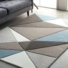 teal area rug wrought studio street modern geometric carved teal gray area for and brown rugs