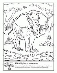 Small Picture Coloring Page Of Africa Coloring Home