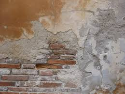 Crumbling Brick Wall Plaster Brick Wall Pinterest