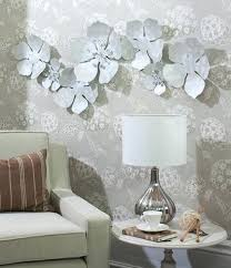 white flower wall art flower chain metal wall art hand crafted metal sculpture with unique white shell finish target white flower wall art on white flower wall art target with white flower wall art flower chain metal wall art hand crafted metal