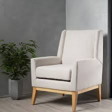 aurla mid century fabric accent chair by christopher knight home