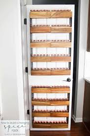 How To Build A Spice Rack Inspiration How To Build A DIY Spice Rack That Can Hang On Your Pantry Door
