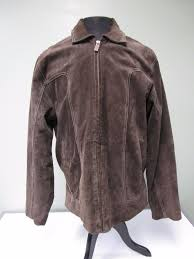 wilsons leather suede jacket coat rancher m julian brown lined men s l 1 of 8 see more