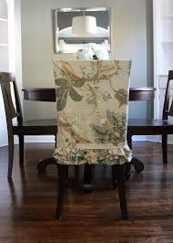 inviting and appealing slipcovers for dining room chairs made of wood in dar finish plus beautiful