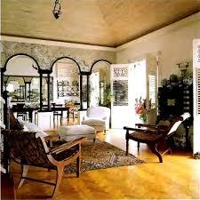 Exotic Caribbean style furniture interior design
