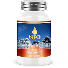 NFO <b>Витамин D3 1000</b> ME