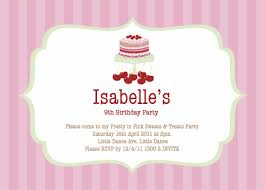 Party Invites Online Tween Party Invitations Sweets And Treats