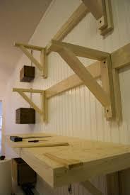 amazing garage shelf bracket low country living do a little jig desk idea heavy duty home depot lowe wall hanging
