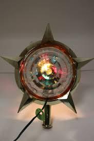 Celestial Lights Christmas Tree Topper Vintage Bradford Celestial Star Motion Light Christmas Tree