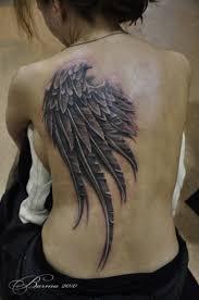 на спине тату крылья татуировка крылья значение тату эскизы фото