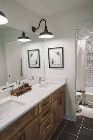 Modern Farmhouse Bathroom Vanity Lighting Kids Bathroom Bathrooms Bathroom Basement Bathroom