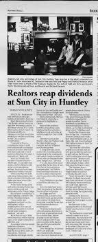 Sandra & Terry Hocin - Realtors Move to Sun City in Huntley - Newspapers.com