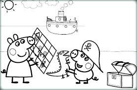 peppa pig coloring coloring book pig as well as pig coloring pages printable ship and sun