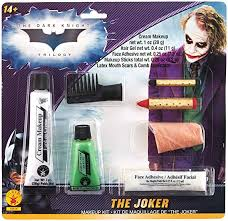 rubie s costume batman the dark knight joker deluxe makeup kit