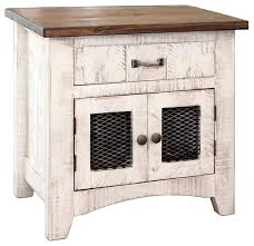 end table with doors nightstand end table with 1 drawer and 2 mesh doors 2 door end table with doors