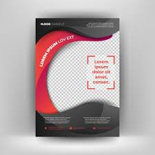 Black Flyer Backgrounds Black And Red Business Flyer Template Modern Background